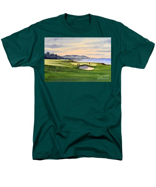Pebble Beach Golf Course T-Shirt by Bill Holkham