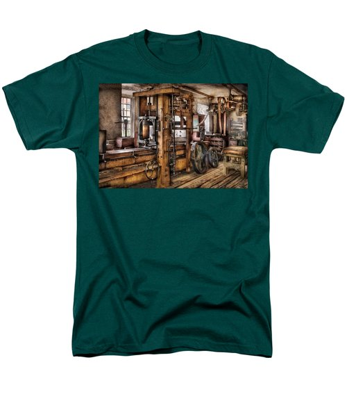 Steam Punk - The Press T-Shirt by Mike Savad