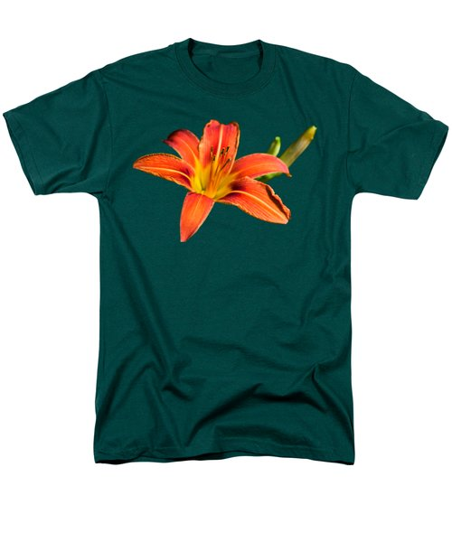 Tiger Lily Men's T-Shirt  (Regular Fit) by Christina Rollo