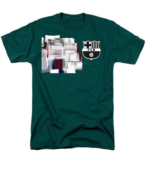 Tribute To Fc Barcelona 7 Men's T-Shirt  (Regular Fit) by Alberto RuiZ