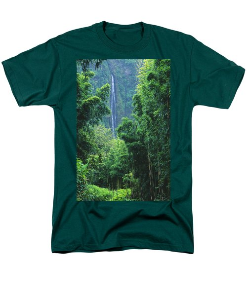 Waimoku Falls T-Shirt by Dave Fleetham - Printscapes