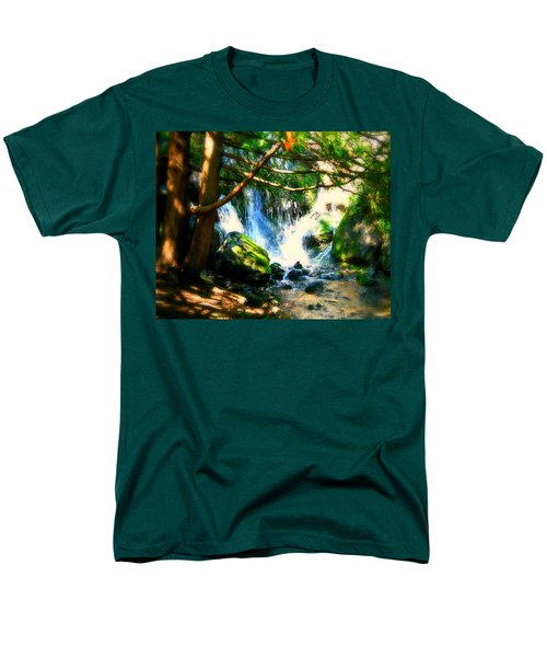 White Falls T-Shirt by Perry Webster