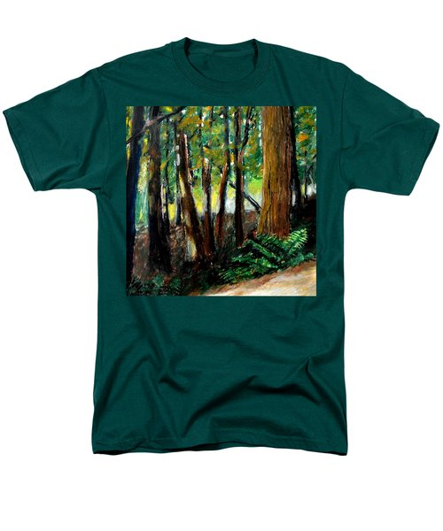 Woodland Trail T-Shirt by Michelle Calkins