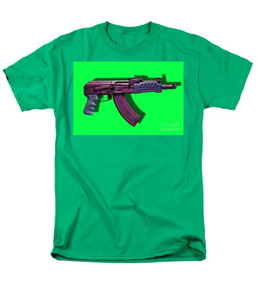 Assault Rifle Pop Art - 20130120 - v3 T-Shirt by Wingsdomain Art and Photography