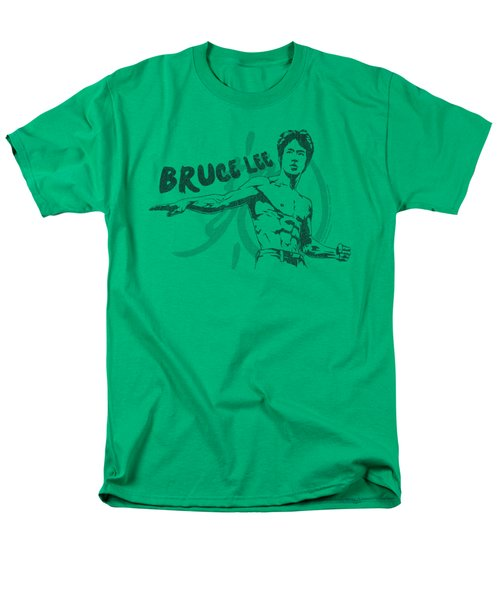 Bruce Lee - Brush Lee Men's T-Shirt  (Regular Fit) by Brand A