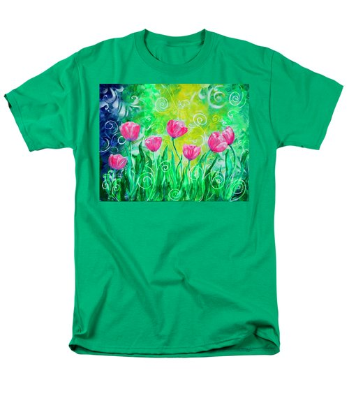 Dancing Tulips T-Shirt by Jan Marvin