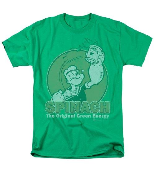 Popeye - Green Energy Men's T-Shirt  (Regular Fit) by Brand A