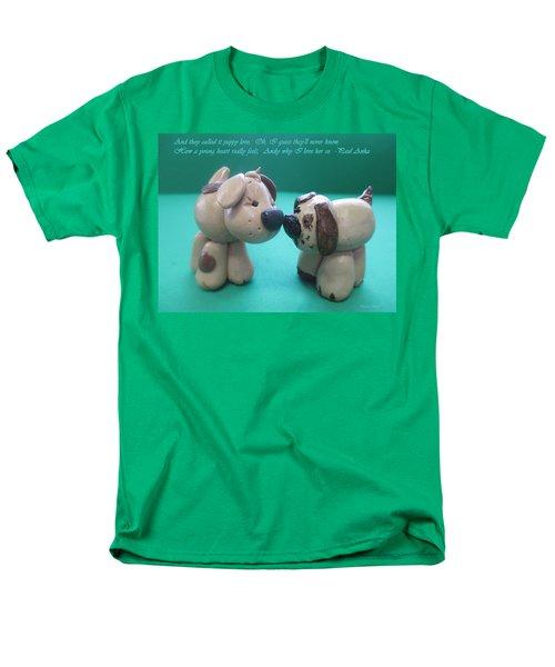 Puppy Love T-Shirt by Barbara Snyder