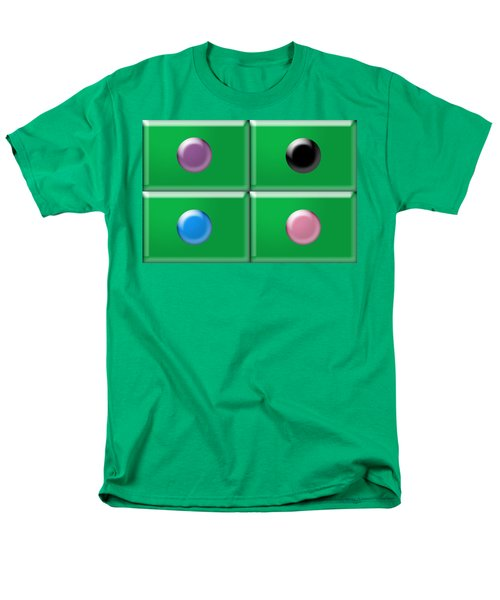 Rectangles and Circles T-Shirt by Gary Silverstein