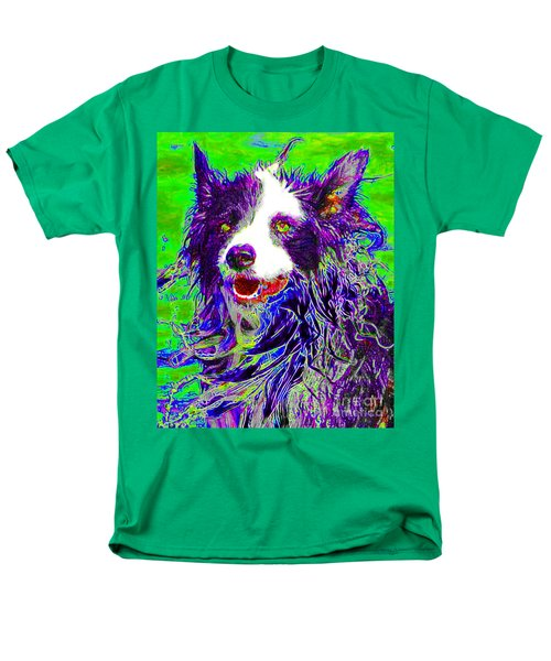 Sheep Dog 20130125v4 T-Shirt by Wingsdomain Art and Photography