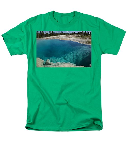 Turquoise hot springs Yellowstone T-Shirt by Garry Gay