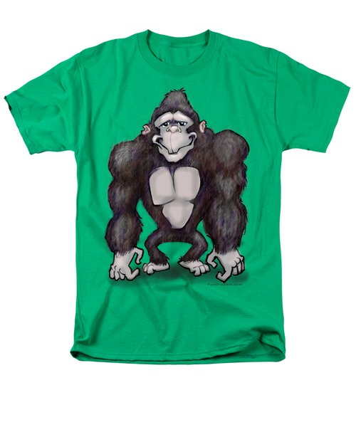 Gorilla Men's T-Shirt  (Regular Fit) by Kevin Middleton