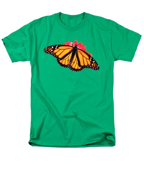 Butterfly Pattern Men's T-Shirt  (Regular Fit) by Christina Rollo