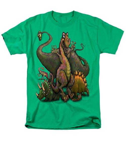 Dinosaurs Men's T-Shirt  (Regular Fit) by Kevin Middleton