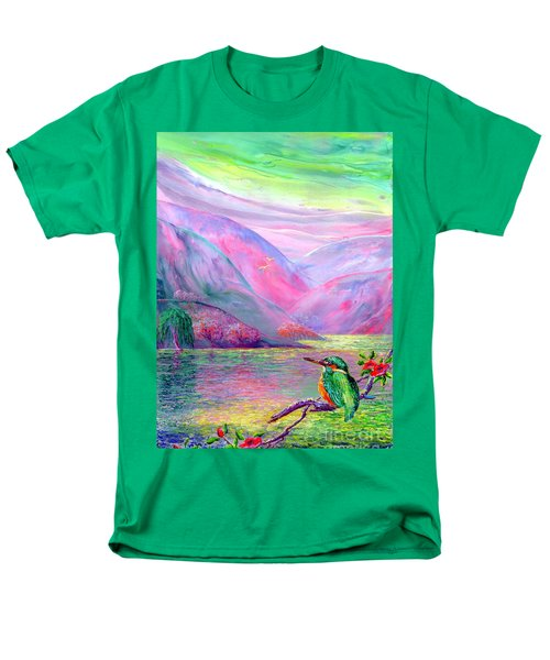 Shimmering Streams T-Shirt by Jane Small