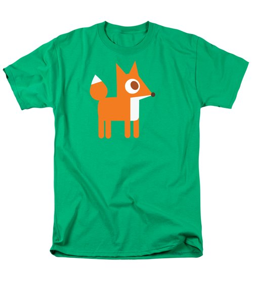 Pbs Kids Fox Men's T-Shirt  (Regular Fit) by Pbs Kids