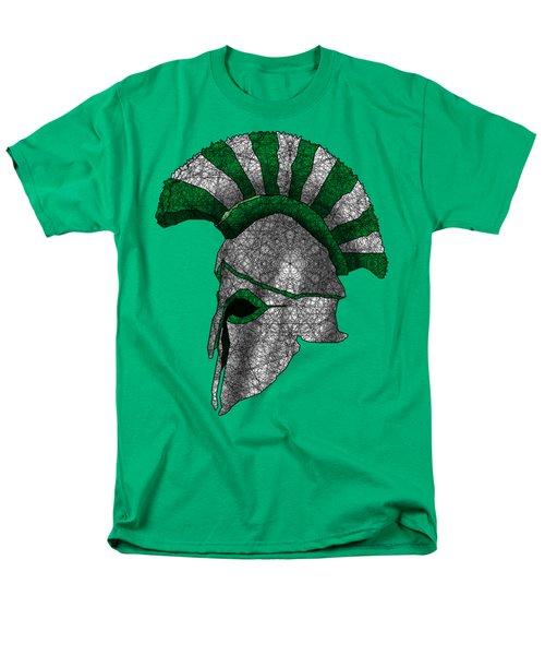 Spartan Helmet Men's T-Shirt  (Regular Fit) by Dusty Conley