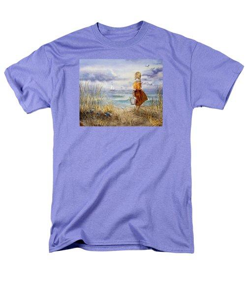 A Girl And The Ocean T-Shirt by Irina Sztukowski