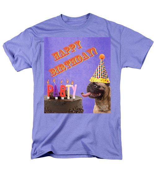 Happy Birthday Card T-Shirt by Edward Fielding