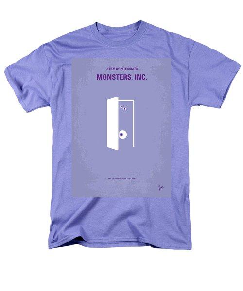No161 My Monster Inc Minimal Movie Poster Men's T-Shirt  (Regular Fit) by Chungkong Art