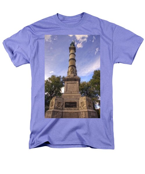Soldiers and Sailors Monument - Boston T-Shirt by Joann Vitali