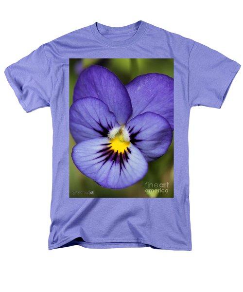 Viola named Sorbet Blue Heaven Jump-Up T-Shirt by J McCombie