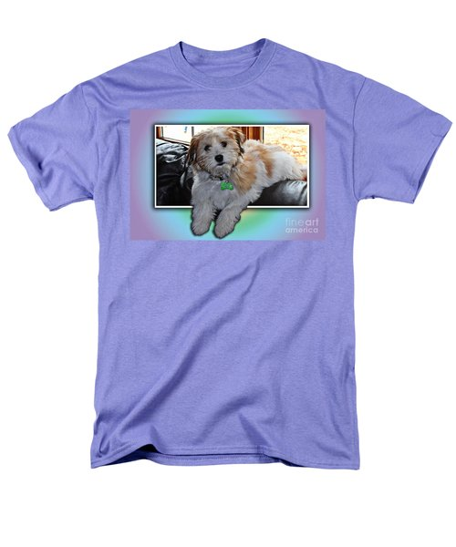 YOSHI Havanese Puppy T-Shirt by Barbara Griffin