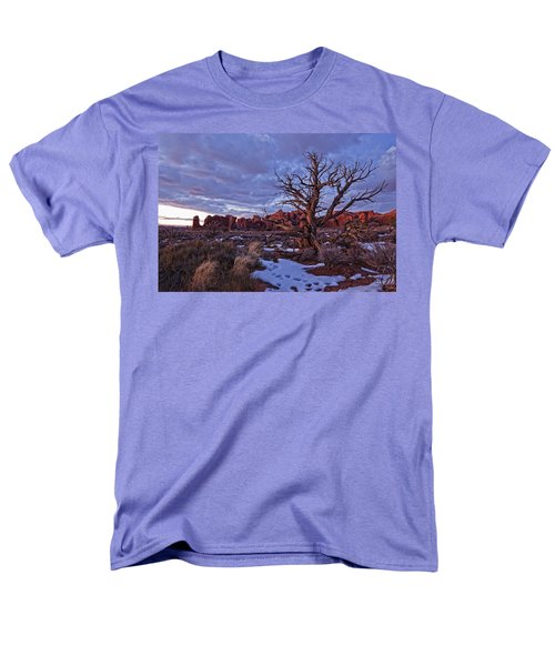 Timed Exposure Of Sunset Clouds T-Shirt by Robert Postma