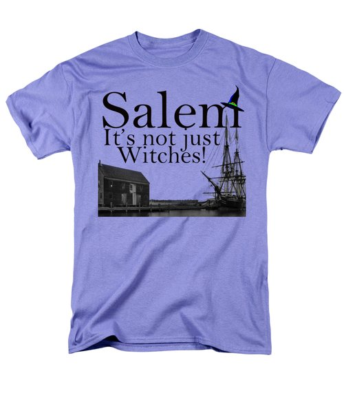 Salem Its Not Just For Witches Men's T-Shirt  (Regular Fit) by Jeff Folger