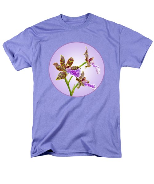 Bold And Beautiful - Zygopetalum Orchid Men's T-Shirt  (Regular Fit) by Gill Billington
