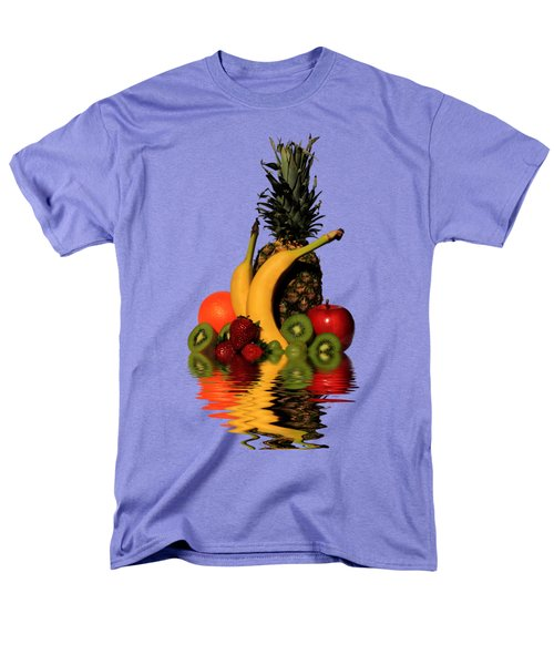 Fruity Reflections - Medium Men's T-Shirt  (Regular Fit) by Shane Bechler