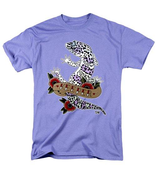 Keeper Leopard Gecko Men's T-Shirt  (Regular Fit) by Donovan Winterberg