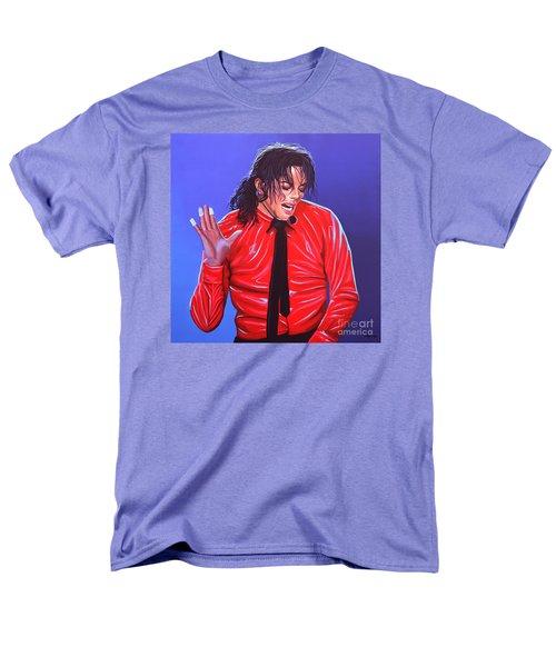 Michael Jackson 2 Men's T-Shirt  (Regular Fit) by Paul Meijering