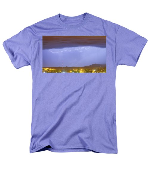 Northern Colorado Rocky Mountain Front Range Lightning Storm  T-Shirt by James BO  Insogna