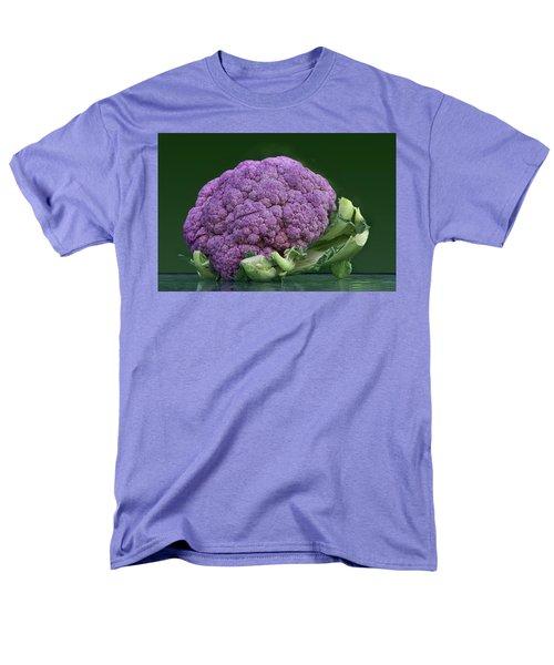 Purple Cauliflower Men's T-Shirt  (Regular Fit) by Nikolyn McDonald