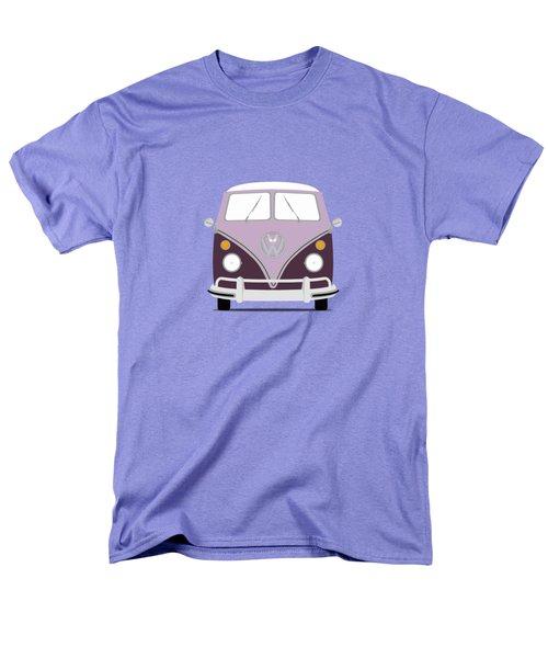 Vw Bus Purple Men's T-Shirt  (Regular Fit) by Mark Rogan