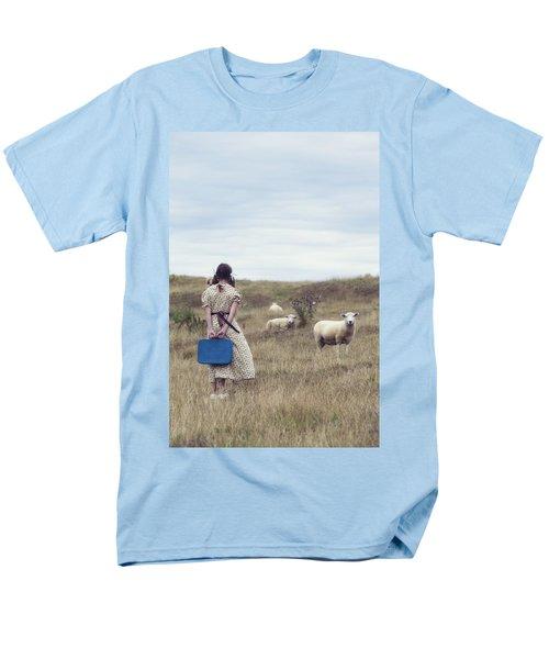 girl with sheeps T-Shirt by Joana Kruse