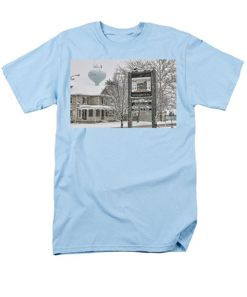 The Whitehouse Inn Sign 7034 Men's T-Shirt  (Regular Fit) by Jack Schultz