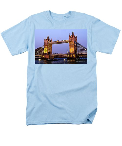 Tower bridge in London at dusk T-Shirt by Elena Elisseeva