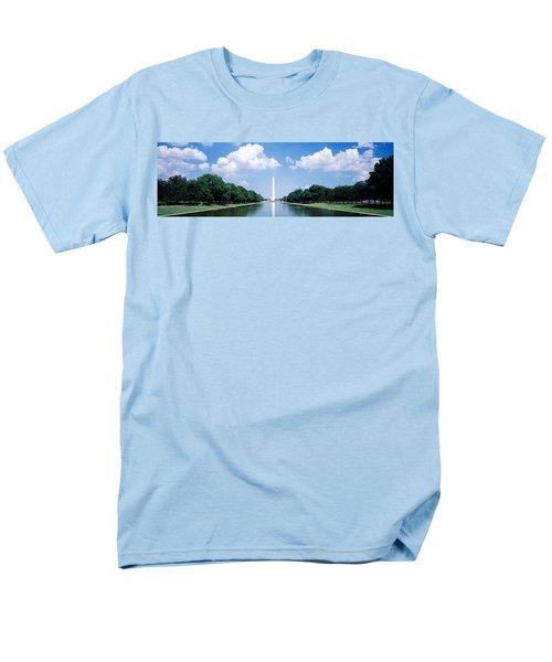 Washington Monument Washington Dc Men's T-Shirt  (Regular Fit) by Panoramic Images
