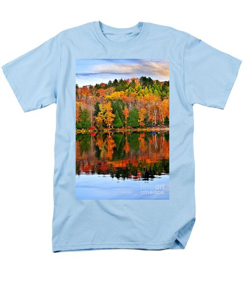 Fall forest reflections T-Shirt by Elena Elisseeva