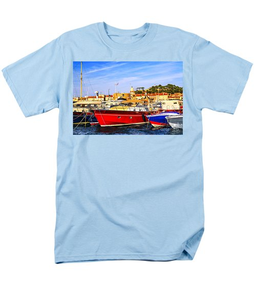 Boats at St.Tropez T-Shirt by Elena Elisseeva