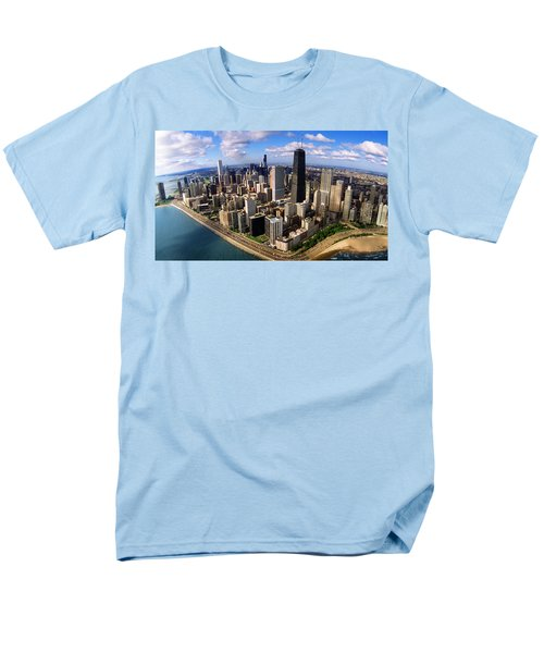 Chicago Il Men's T-Shirt  (Regular Fit) by Panoramic Images