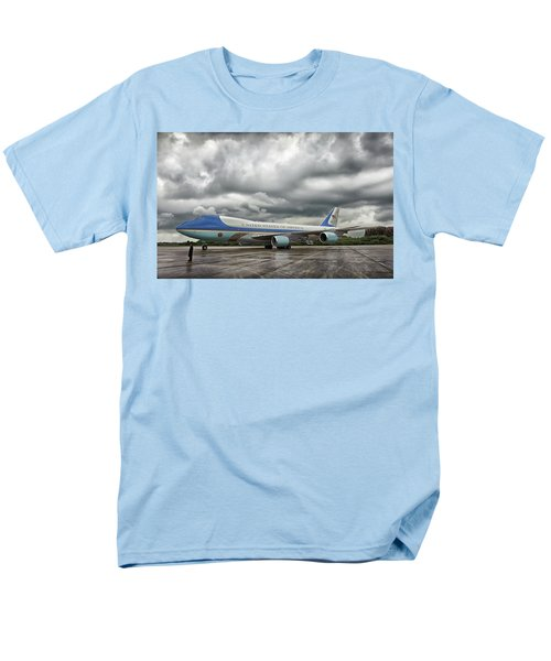Air Force One Men's T-Shirt  (Regular Fit) by Mountain Dreams
