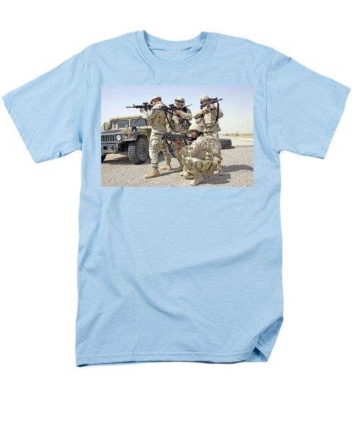 Men's T-Shirt  (Regular Fit) featuring the photograph Air Force Squadron by Science Source