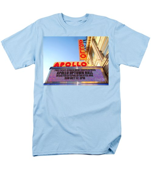 At The Apollo Men's T-Shirt  (Regular Fit) by Ed Weidman