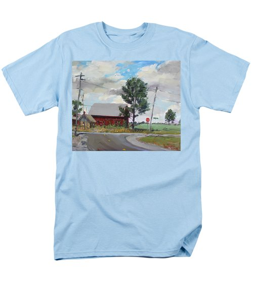 Barn by Lockport Rd T-Shirt by Ylli Haruni