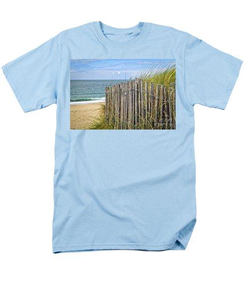 Beach fence T-Shirt by Elena Elisseeva