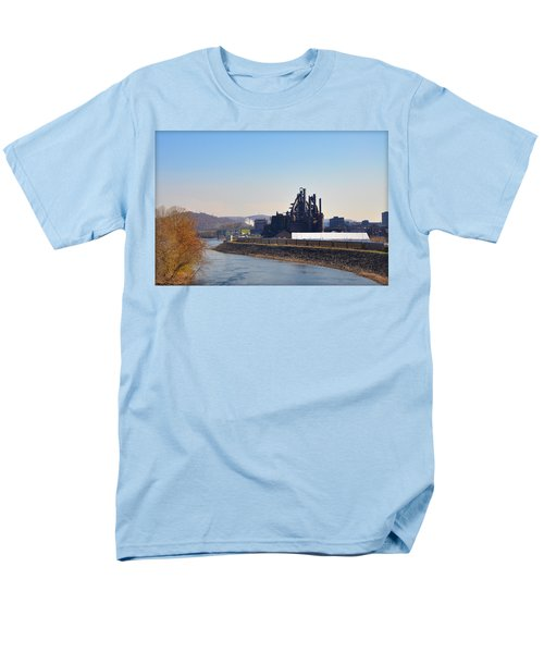 Bethlehem Steel and the Lehigh River T-Shirt by Bill Cannon