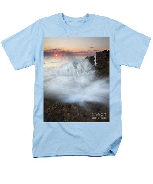 Blowing Rocks Sunrise Explosion T-Shirt by Mike  Dawson
